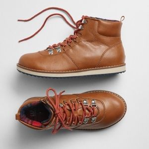 Kids Lace-Up Hiker Boots